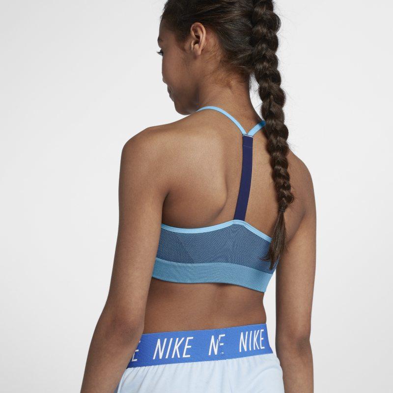 Nike Sujetador moldeador - Niña - Azul