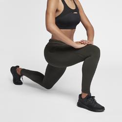 Женские беговые тайтсы Nike Epic Lux 65 смЖенские беговые тайтсы Nike Epic Lux 65 см из гладкой поддерживающей ткани Nike Power созданы для отличных результатов на пробежке. Дополнительный карман на правой штанине позволяет легко убирать и доставать телефон.  Плотная удобная посадка  Эластичная ткань Nike Power обеспечивает поддержку и свободу движений. Широкий завышенный пояс обеспечивает плотную посадку, поддерживая мышцы корпуса во время пробежки и после нее.  Удобное хранение  Карман на правой штанине отлично подходит для телефона. А задний карман на молнии защищает ценные мелочи от влаги. Плоский бегунок молнии не мешает при выполнении упражнений на спине.  Охлаждение и комфорт  Легкая дышащая ткань в нижней части штанин для циркуляции воздуха. Технология Dri-FIT отводит влагу от кожи, обеспечивая комфорт.<br>