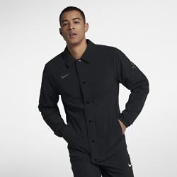 Мужская баскетбольная куртка Nike KyrieМужская баскетбольная куртка Nike Kyrie из эластичной ткани, тянущейся во всех направлениях, с водоотталкивающим покрытием обеспечивает тепло и комфорт во время игры.<br>