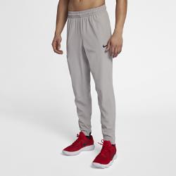 Мужские баскетбольные брюки Nike FlexМужские баскетбольные брюки Nike Flex из эластичной ткани, тянущейся во всех направлениях, обеспечивают комфорт и свободу движений на площадке.<br>