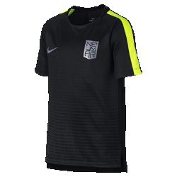 Игровая футболка с коротким рукавом для мальчиков школьного возраста Neymar Nike Dry SquadИгровая футболка с коротким рукавом для мальчиков школьного возраста Neymar Nike Dry Squad из влагоотводящей ткани с плотной посадкой обеспечивает комфорт и позволяет сосредоточиться на тренировке или игре.<br>