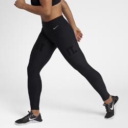 Женские тайтсы для тренинга с графикой JDI Nike PowerЖенские тайтсы для тренинга с графикой JDI Nike Power из влагоотводящей компрессионной ткани обеспечивают комфорт и поддержку во время тренировки.<br>