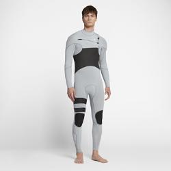 Мужской гидрокостюм Hurley Advantage Plus Fullsuit 3/2 ммМужской гидрокостюм Hurley Advantage Plus Fullsuit 3/2 мм обеспечивает тепло, позволяя полностью сосредоточиться на занятиях серфингом в холодную погоду. К обновленным элементамотносятся более обтекаемый силуэт и вставки в области коленей для легкости и защиты от влаги.  Удобно надевать, легко снимать  Непромокаемая молния анатомической формы на груди открыта с обеих сторон для свободы движений и предотвращения разрыва. Инновационная застежка с фиксатором позволяет быстро и удобно застегнуть кромку одной рукой.  Создано для движения  Швы расположены далеко от области подмышек, лопаток и внутренней части ног для гибкости. Легкая и невероятно эластичная неопреновая ткань Exoflex обеспечивает свободу движений на протяжении всей тренировки.  Легкость и тепло  Теплый ворсистый внутренний слой быстро высыхает, сохраняя легкость и защищая от холодного ветра. Флисовый внутренний слой из полого волокна на груди отводит влагу и удерживает тепло.<br>