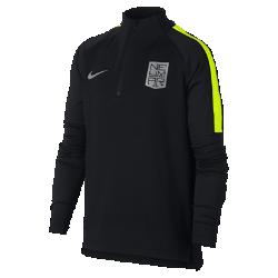 Игровая футболка для мальчиков школьного возраста Nike Dri-FIT Neymar Squad DrillИгровая футболка для мальчиков школьного возраста Nike Dri-FIT Neymar Squad Drill из влагоотводящей ткани с рукавами покроя реглан обеспечивает комфорт и свободу движений на поле.<br>