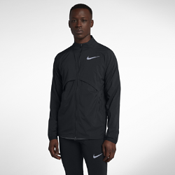 Мужская куртка Nike Shield ConvertibleМужская куртка Nike Shield Convertible из влагонепроницаемой ткани обеспечивает полный комфорт в любую погоду. Вставки из сетки на спине предотвращают перегрев, а если станет жарко, куртку можно сложить в задний карман на молнии и носить с собой. Кроме того, в сложенном виде ее можно носить как сумку на поясе с карманом на молнии.<br>