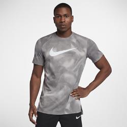 Мужская баскетбольная футболка с коротким рукавом и принтом Nike Breathe EliteМужская баскетбольная футболка с коротким рукавом и принтом Nike Breathe Elite из дышащей влагоотводящей ткани обеспечивает комфортное охлаждение во время игры.<br>