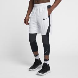 Мужские баскетбольные шорты Nike Dry Elite 23 смМужские баскетбольные шорты Nike Dry Elite 23 см из влагоотводящей ткани с дышащими вставками из сетки обеспечивают вентиляцию и комфорт во время игры.<br>