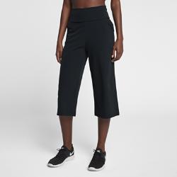 Женские брюки для тренинга Nike Bliss StudioЖенские брюки для тренинга Nike Bliss Studio из эластичной влагоотводящей ткани со свободным кроем обеспечивают комфорт и свободу движений.<br>