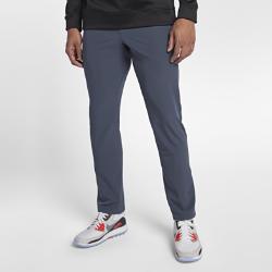 Мужские брюки для гольфа с плотной посадкой Nike FlexМужские брюки для гольфа с плотной посадкой Nike Flex обеспечивают комфорт и свободу движений во время игры благодаря эластичной влагоотводящей ткани.<br>
