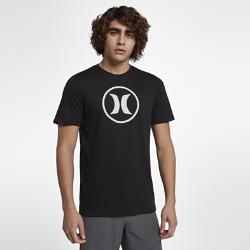 Мужская футболка Hurley Circle Icon Dri-FITМужская футболка Hurley Circle Icon Dri-FIT из мягкой влагоотводящей ткани с узнаваемой эмблемой обеспечивает комфорт на весь день.<br>