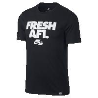 <ナイキ(NIKE)公式ストア> ナイキ エア Fresh AF1 メンズ Tシャツ 892154-010 ブラック画像