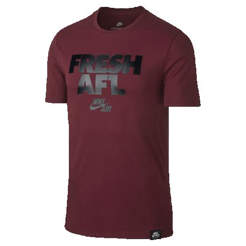 ナイキ エア Fresh AF1 メンズ Tシャツ 892154-677 レッド