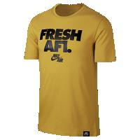 <ナイキ(NIKE)公式ストア> ナイキ エア Fresh AF1 メンズ Tシャツ 892154-747 ゴールド画像