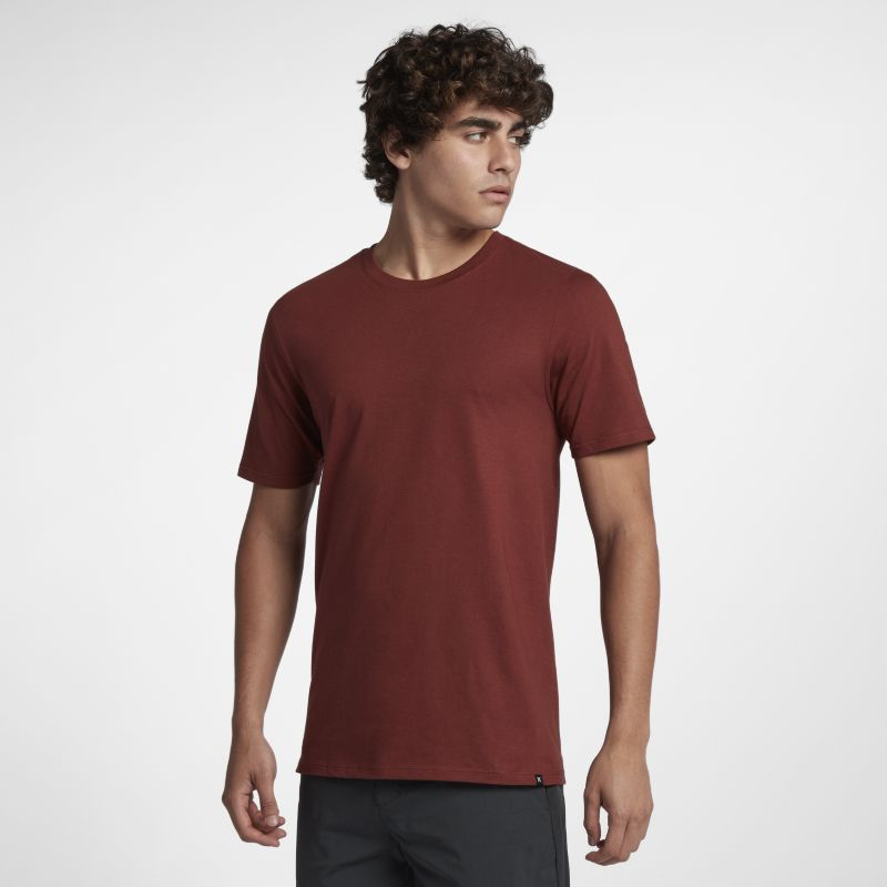 Nike Hurley Staple Men's T-Shirt - Brown Image