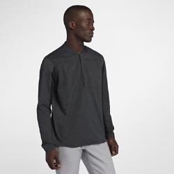 Мужская куртка для гольфа с молнией до середины груди Nike ShieldМужская куртка для гольфа Nike Shield с молнией до середины груди и легкой конструкцией из влагонепроницаемого эластичного материала защищает от непогоды и обеспечивает свободу движений.<br>