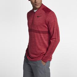 Мужская футболка для гольфа с молнией до середины груди Nike DryМужская футболка для гольфа с молнией до середины груди Nike Dry из влагоотводящей ткани обеспечивает комфорт во время игры.<br>