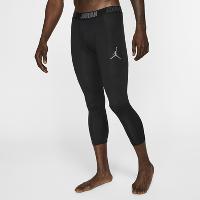 NIKE Jordan Dri-FIT 23 Alpha 3/4 Men's Training Tights (Black/Dark Grey)