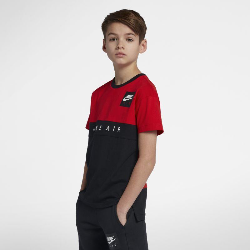 Nike Air Older Kids'(Boys') T-Shirt - Red Image