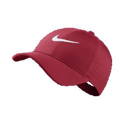 Бейсболка с застежкой для гольфа Nike AeroBill Legacy 91Бейсболка с застежкой для гольфа Nike AeroBill Legacy 91 из влагоотводящей ткани с перфорацией на панелях обеспечивает охлаждение и комфорт во время игры.<br>
