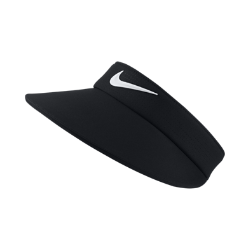 Женский козырек для гольфа Nike AeroBill Big BillЖенский козырек для гольфа Nike AeroBill Big Bill обеспечивает дополнительную защиту от солнца для комфорта в течение всей игры.<br>