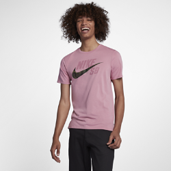 Nike SB Dri-FIT Men's Skateboarding T-Shirt - Pink Image