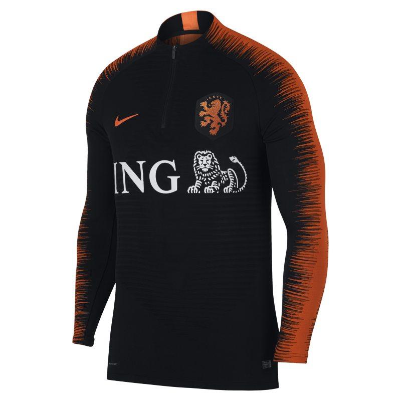 293809c51e Nike Netherlands VaporKnit Strike Drill Men's Long-Sleeve Football Top -  Black Image