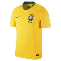 <ナイキ(NIKE)公式ストア> NEW 2018 ブラジル CBF スタジアム ホーム メンズ サッカージャージー 893856-749 ゴールド 会員は送料無料画像