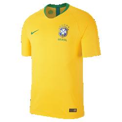 <ナイキ(NIKE)公式ストア>2018 ブラジル CBF ヴェイパー マッチ ホーム メンズ サッカージャージー 893858-749 ゴールド画像