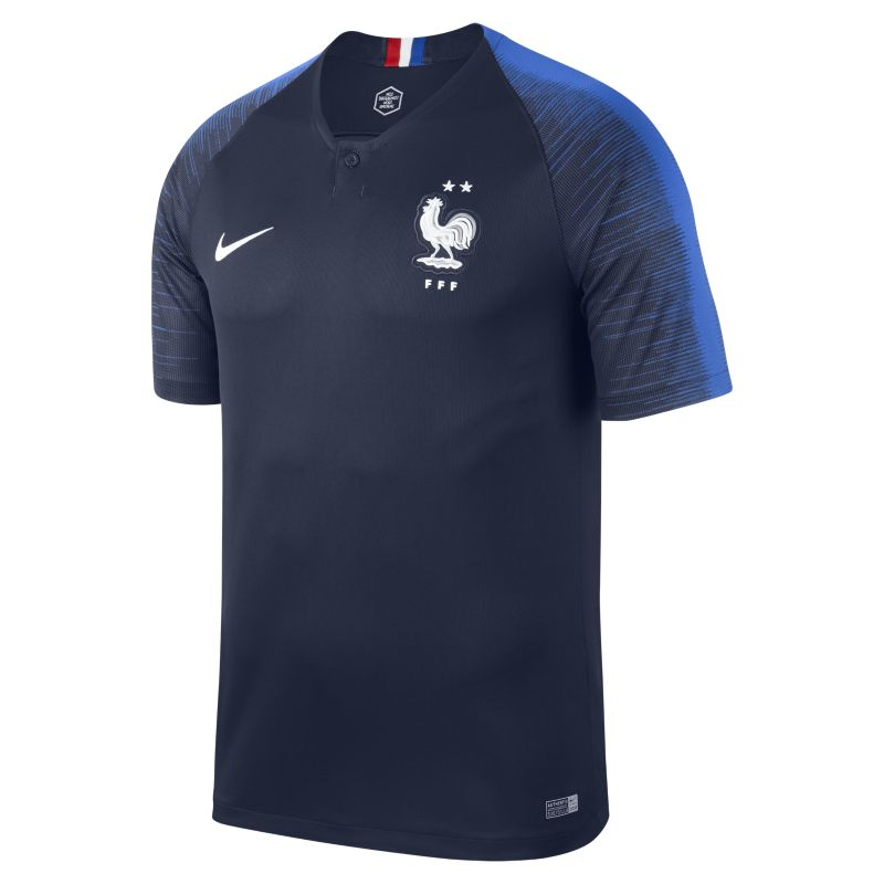 Nike France Mens SS Home Shirt 2018 Image