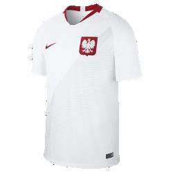 <ナイキ(NIKE)公式ストア>2018 ポーランド スタジアム ホーム メンズ サッカージャージー 893893-100 ホワイト画像