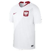 <ナイキ(NIKE)公式ストア> NEW 2018 ポーランド スタジアム ホーム メンズ サッカージャージー 893893-100 ホワイト 会員は送料無料画像