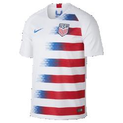 <ナイキ(NIKE)公式ストア>2018 アメリカ U.S. スタジアム ホーム メンズ サッカージャージー 893902-100 ホワイト画像