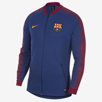FC Barcelona Anthem Men s Football Jacket. Nike.com LU 657c4e799