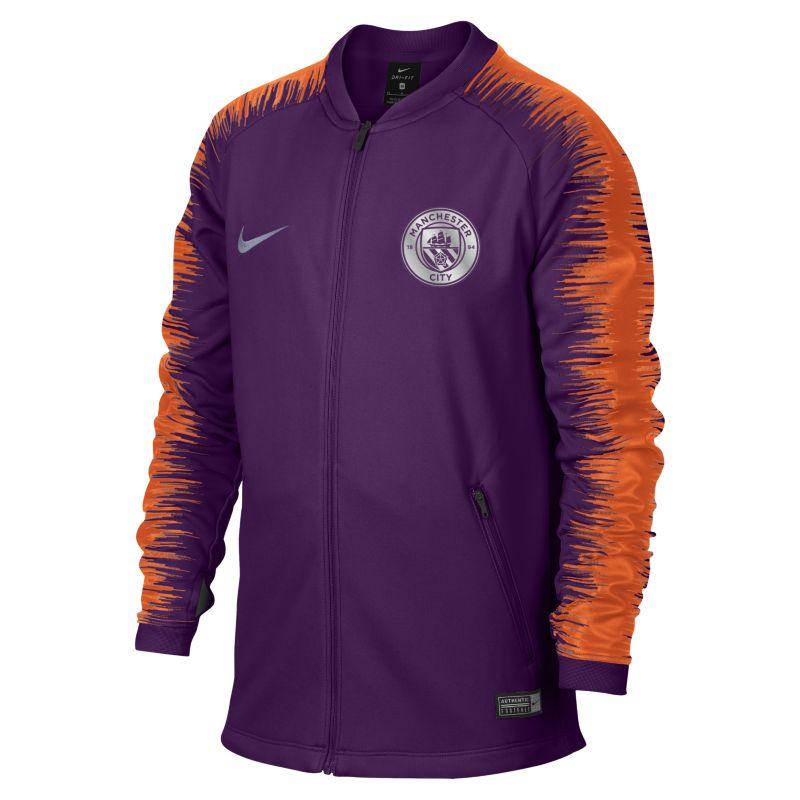 Manchester City FC Anthem Genç Çocuk Futbol Ceketi  894413-541 -  Mor S Beden Ürün Resmi