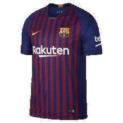 <ナイキ(NIKE)公式ストア>2018/19 FC バルセロナ スタジアム ホーム メンズ サッカージャージー 894430-456 ブルー画像