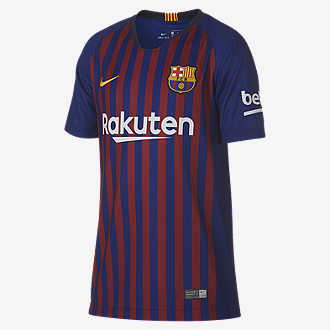 1baeab36c1d 2018/19 FC Barcelona Stadium Home. Big Kids' Soccer Jersey
