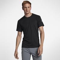 <ナイキ(NIKE)公式ストア>ハーレー アイコン クイック ドライ メンズ ショートスリーブ サーフシャツ 894635-010 ブラック画像