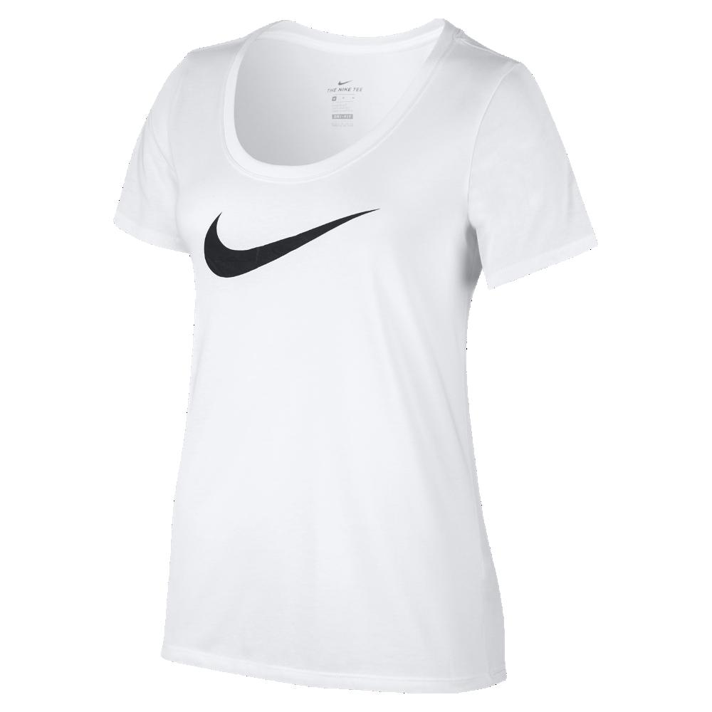 <ナイキ(NIKE)公式ストア> ナイキ ドライ スウッシュ ウィメンズ Tシャツ 894664-101 ホワイト ★30日間返品無料 / Nike+メンバー送料無料
