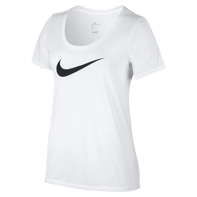 <ナイキ(NIKE)公式ストア>ナイキ ドライ スウッシュ ウィメンズ Tシャツ 894664-101 ホワイト