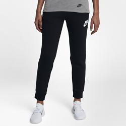 Женские брюки Nike Sportswear RallyЖенские брюки Nike Sportswear Rally из мягкого смесового хлопка обеспечивают комфорт на весь день.<br>