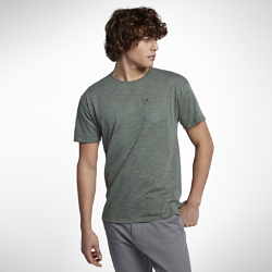 Мужская футболка Hurley Dri-FIT Lagos PortМужская футболка Hurley Dri-FIT Lagos Port из влагоотводящей ткани обеспечивает комфорт на весь день.<br>