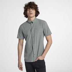 Мужская рубашка с коротким рукавом Hurley AlchemyМужская рубашка с коротким рукавом Hurley Alchemy из быстросохнущей водоотталкивающей ткани обеспечивает комфорт в воде и на суше.<br>