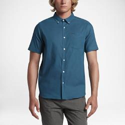 Мужская футболка с коротким рукавом Hurley Dri-FIT One And OnlyМужская футболка с коротким рукавом Hurley Dri-FIT One And Only из мягкой влагоотводящей ткани с классическим воротником на пуговицах обеспечивает комфорт на каждый день.<br>