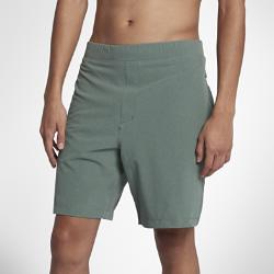 Мужские шорты Hurley Alpha Trainer Plus 45,5 смМужские шорты Hurley Alpha Trainer Plus 45,5 см из прочной и эластичной ткани рипстоп выдержат любые испытания и обеспечат непревзойденный комфорт.<br>