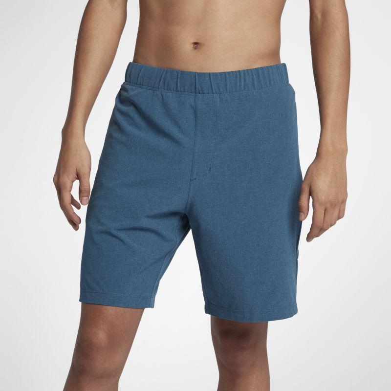 Nike Hurley Alpha Trainer Plus Men's 18(45.5cm approx.) Shorts - Blue Image