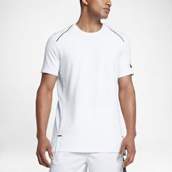 Мужская баскетбольная футболка с коротким рукавом Nike Dry Hyper EliteМужская баскетбольная футболка с коротким рукавом Nike Dry Hyper Elite из влагоотводящей ткани со вставкой из сетки на спине обеспечивает вентиляцию и комфорт во время игры.<br>