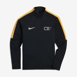 Игровая футболка для школьников Nike Squad Drill CR7Игровая футболка для школьников Nike Squad Drill CR7 обеспечивает тепло и комфорт до, во время и после игр и соревнований.<br>