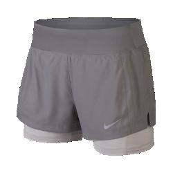 Женские беговые шорты 2 в 1 Nike EclipseЖенские беговые шорты 2 в 1 Nike Eclipse из эластичной ткани обеспечивают оптимальную свободу движений, а несколько карманов позволяют надежно хранить все необходимое. Идеальный выбор для пробежек в городе.<br>