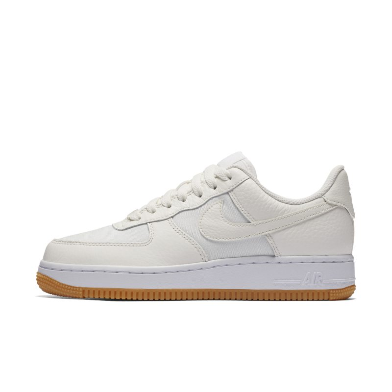 best website ff00a 556aa Nike Air Force 1 07 Low Premium Women s Shoe - Cream Thumbnail Image