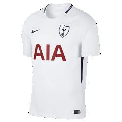 Мужское футбольное джерси 2017/18 Tottenham Hotspur FC Stadium HomeМужское футбольное джерси 2017/18 Tottenham Hotspur FC Stadium Home из легкой влагоотводящей ткани обеспечивает охлаждение и комфорт.<br>